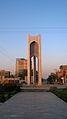 Azadi square in Morning - Nishapur 11.JPG