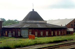 Martinsburg, West Virginia - B&O Roundhouse and Station Complex