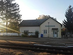 Bódvaszilas train station