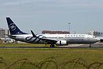 B-5159 - Xiamen Airlines - Boeing 737-85C(WL) - SkyTeam Livery - TAO (14867919215).jpg