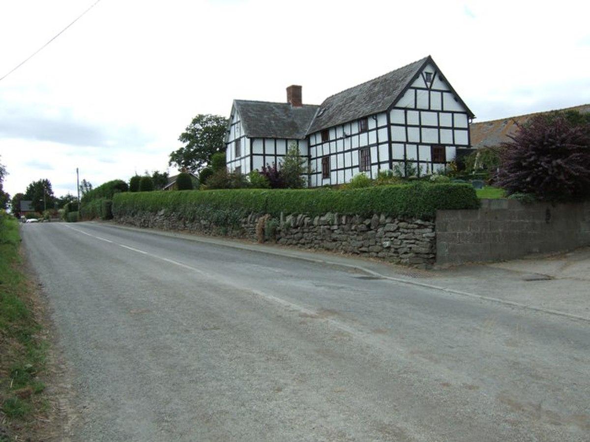 B4386 at Marton - geograph.org.uk - 540858.jpg