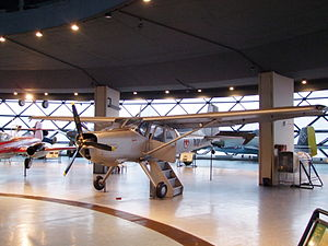Utva 66 - Utva-66 on display in the Museum of Aviation
