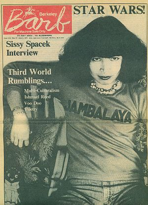 Berkeley Barb - A 1977 front cover of the Berkeley Barb