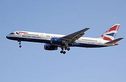 Boeing 757 an'i British Airways