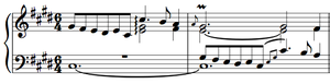 Prelude and Fugue in C-sharp minor, BWV 849 - Image: Bach Prelude BWV 849