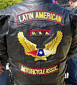 Back of leather vest of a Latin American Motorcycle Association member.jpg