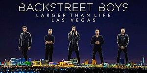 Backstreet Boys: Larger Than Life - Image: Backstreet Boys Larger Than Life