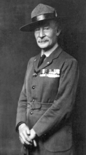 Robert Baden-Powell, 1st Baron Baden-Powell lieutenant-general in the British Army, writer, founder and Chief Scout of the Scout Movement