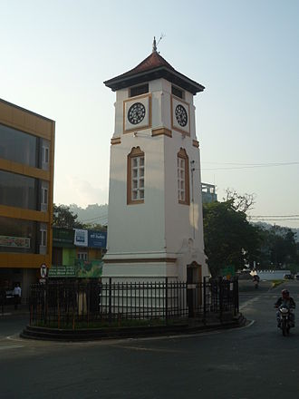 Badulla - Badulla clock tower