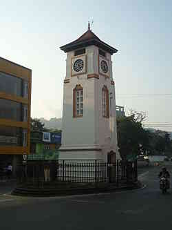 Badulla clock tower
