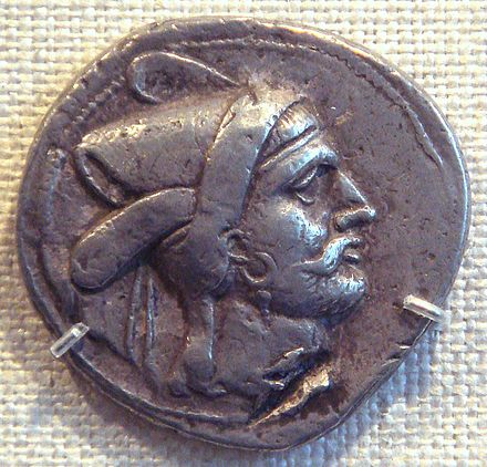 Bagadates I, first native Persian ruler after Greek rule BagdatesI290-280BCEPersia.jpg