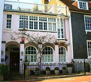Enid Bagnold - Part of the former home of Enid Bagnold in Rottingdean