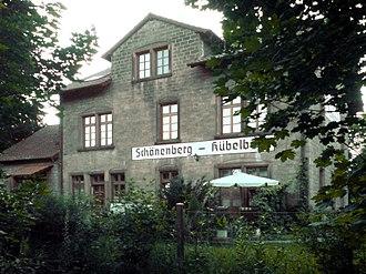 Schönenberg-Kübelberg - Schönenberg, Bahnhofstraße 48/52 monumental zone: railway station
