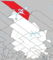 Baie-Obaoca Quebec location diagram.png