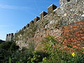 Bailey Walls, South East Range to Hertford Castle 013.JPG