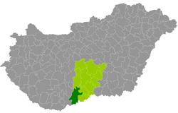 baja megye térkép Baja District   Wikipedia baja megye térkép