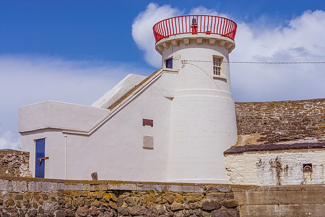 Balbriggan lighthouse without the dome