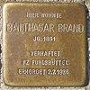 Stolperstein für Balthasar Brand