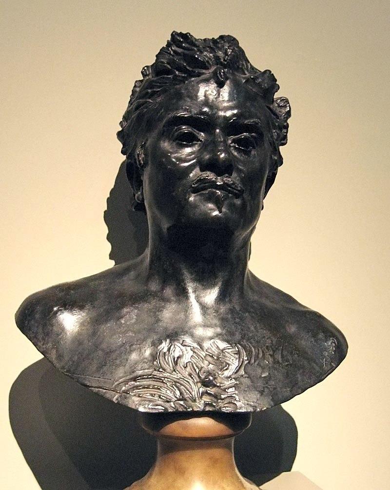 Balzac bust by Rodin1892