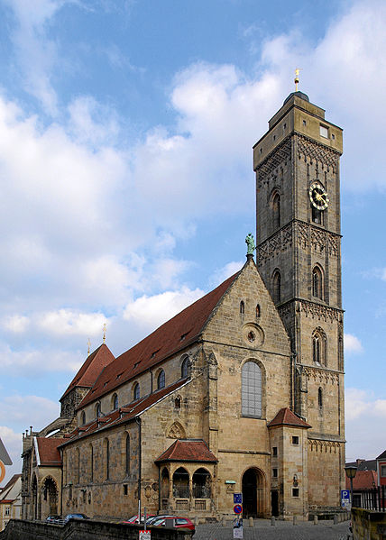 Our Lady's Church the main parish church of Bamberg also named Upper