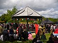 Bandstand in Aldershot during VE70 - geograph-5255102.jpg