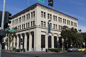 National Register of Historic Places listings in Merced County, California - Image: Bank of Los Banos Building