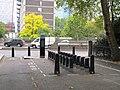 Barclays bike hire stand, Paddington Green - geograph.org.uk - 2610018.jpg
