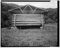 Barn, east elevation - Trump-Lilly Farm, Hinton, Summers County, WV HABS WVA,45-HINT.V,1-39.tif