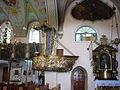 Barokowa ambona w kościele paraf. p.w.Bożego Ciała.JPG