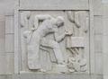Bas-relief sculpture, Robert N.C. Nix Federal Building, Philadelphia, Pennsylvania LCCN2010718969.tif