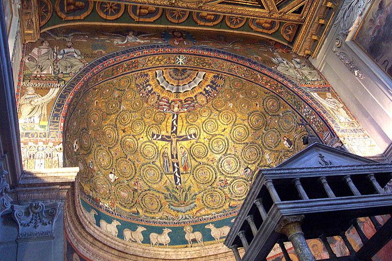 Fichier:Basilica di San Clemente - Abside.jpg