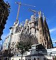 Basilique Sagrada Familia façade nord est Barcelone 9.jpg