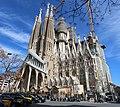 Basilique Sagrada Familia façade sud ouest Barcelone 12.jpg