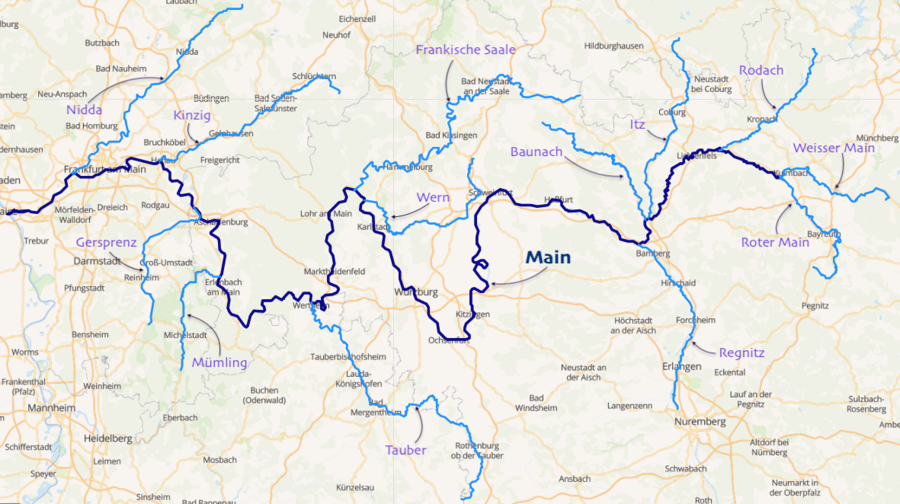 The Main and its main tributaries Bassin du Main.png