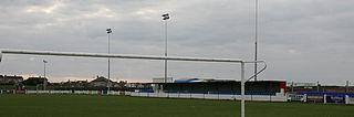 Bastion Road Football stadium in Prestatyn, Wales