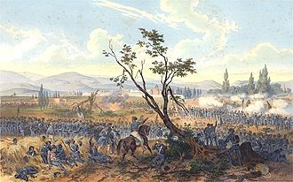 Battle of Churubusco - Image: Battle Churubusco