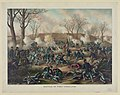 Battle of Fort Donelson-Capture of Generals S.B. Buckner and his army, February 16th 1862 LCCN91482118.jpg