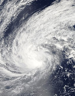 Pacific typhoon in 2015