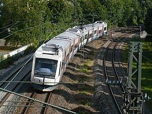 Bayerische Oberlandbahn - Integral between Harras and Heimeranplatz