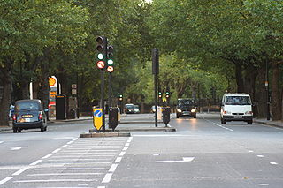 Bayswater Road road in London, England