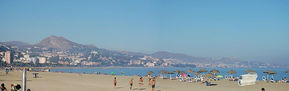 Beach of Malaga