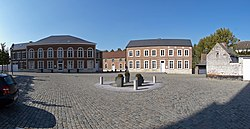 Beauvechain town square and hall