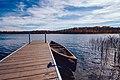 Beers Lake Boat Dock - Maplewood State Park, Minnesota (37510394420).jpg
