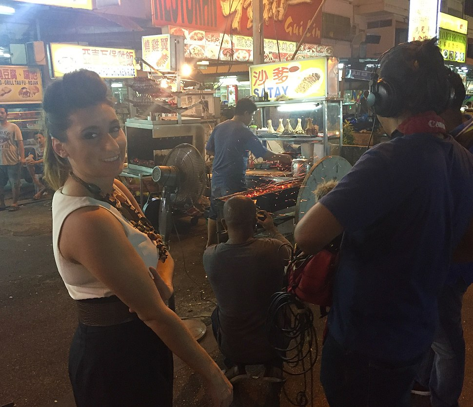 Behind the Scenes DeliciouslyDiverse Malaysia Gina Keatley Jalan Alor