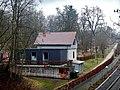 Bei der Neckarquelle, Stadtpark Möglingshöhe, Gastronomie an der Biwakschachtel – altes Bahnwärterhäuschen - panoramio (1).jpg