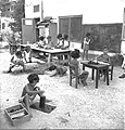 Beit Zera 1950 in the 50s outdoor lesson about 1950.jpg