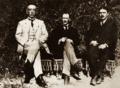 Bekir Sami Kunduh, Mustafa Kemal Atatürk, Rauf Orbay (Ekim 1919).png