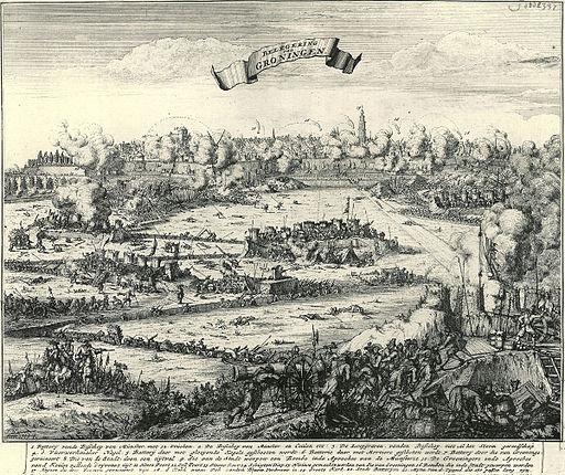 Beleg van Groningen - Siege of Groningen by Bernhard von Galen (1672)