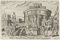 Belegering van de Engelenburcht, 1527 Overwinningen van Karel V (serietitel) Divi Caroli. V. imp. opt. max. victoriae, ex multis praecipuae (serietitel), RP-P-1892-A-17525.jpg