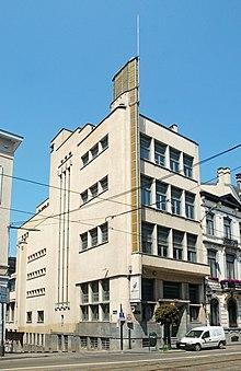 Architecture moderniste en Belgique - WikiVisually